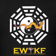 Ewkf ba gua dragon tee design